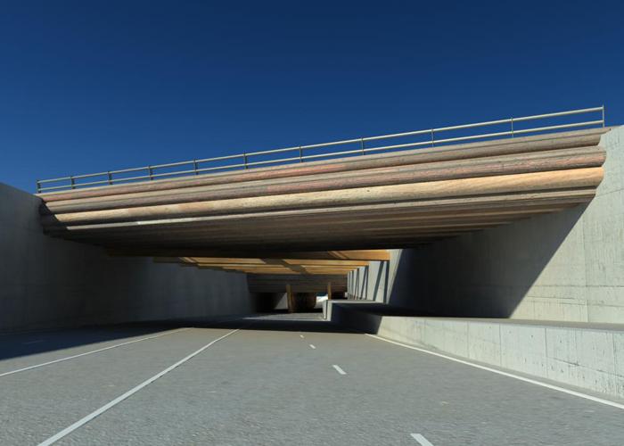 Aquaduct Westelijke invalsweg Leeuwarden