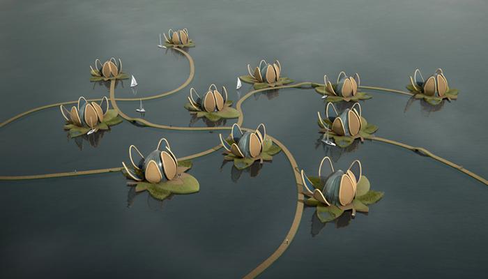 Lotuswoningen Lyiang China