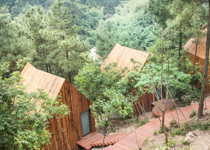 Mei jie Mountain Spa Houses