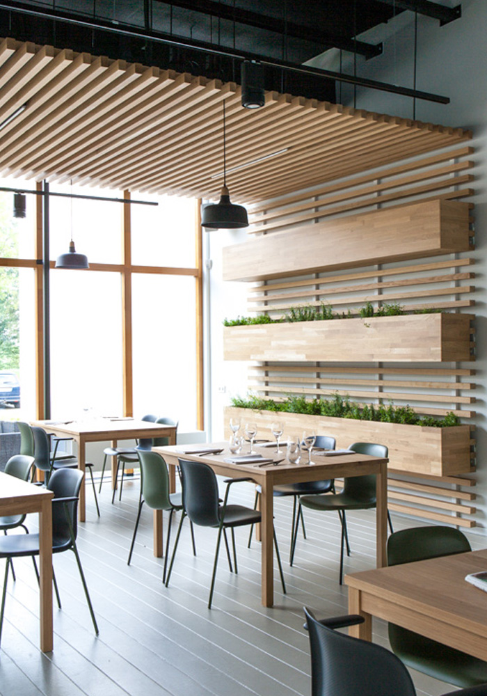 Interieur restaurant Stenden University